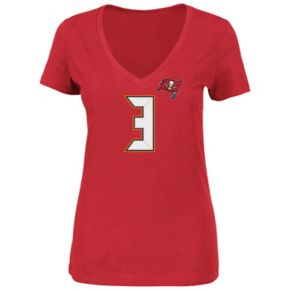 Plus Size Majestic Tampa Bay Buccaneers Jameis Winston Name and Number Tee