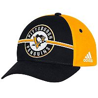 Adult adidas Pittsburgh Penguins Structured Adjustable Cap