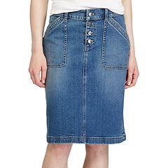 Womens Denim Skirts & Skorts - | Kohl's