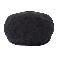 Men's Chaps Solid Wool-Blend Driver Cap