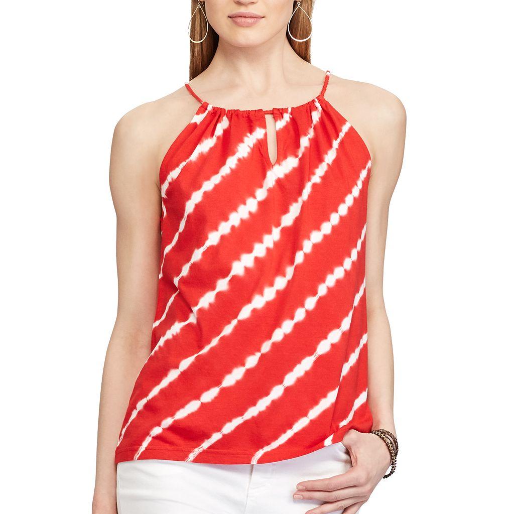 Women's Chaps Tie-Dye Halter Top