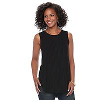 Women's Apt. 9® Ribbed Tunic Tank