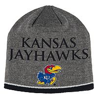 Adult adidas Kansas Jayhawks Player Beanie