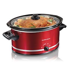 Hamilton Beach 8-qt. Metallic Slow Cooker