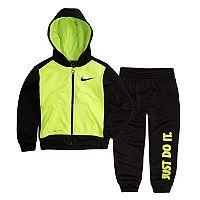 Toddler Boy Nike 2 pc Zip Hoodie & Pants Set