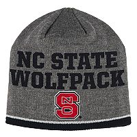 Adult adidas North Carolina State Wolfpack Player Beanie