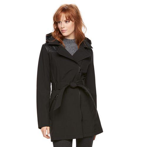 Women's Sebby Collection Soft Shell Rain Jacket