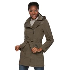 Women's Sebby Collection Soft Shell Rain Jacket