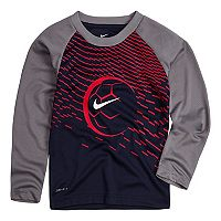 Toddler Boy Nike Soccer Raglan Dri-Fit Tee