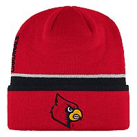 Adult adidas Louisville Cardinals Coach Cuffed Beanie