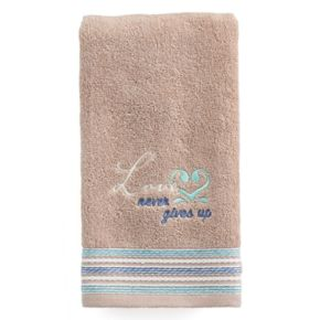 "Saturday Knight, Ltd. Karma ""Love"" Hand Towel"