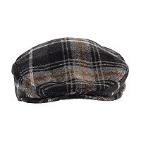Men's Chaps Plaid Wool-Blend Driver Cap