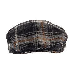 Men's Chaps Plaid Wool-Blend Driver Cap