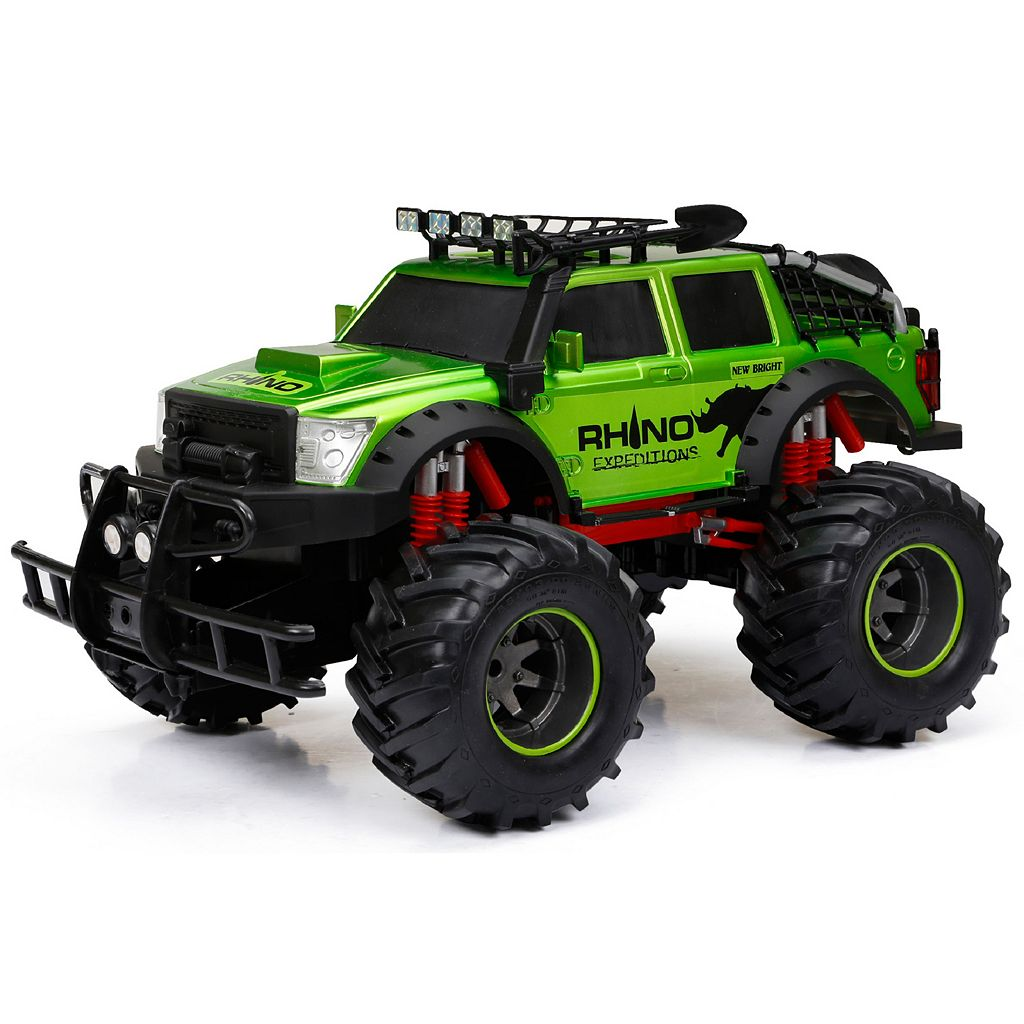 New Bright 1:24 R/C Full Function 9.6V 4X4 Rhino