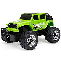 New Bright 1:24 R/C Full Function Jeep Wrangler