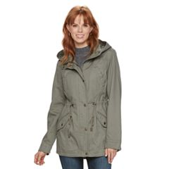 Women's Sebby Collection Cotton Anorak
