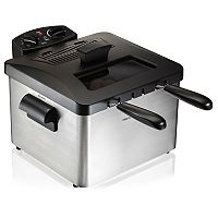 Hamilton Beach Triple-Basket Deep Fryer