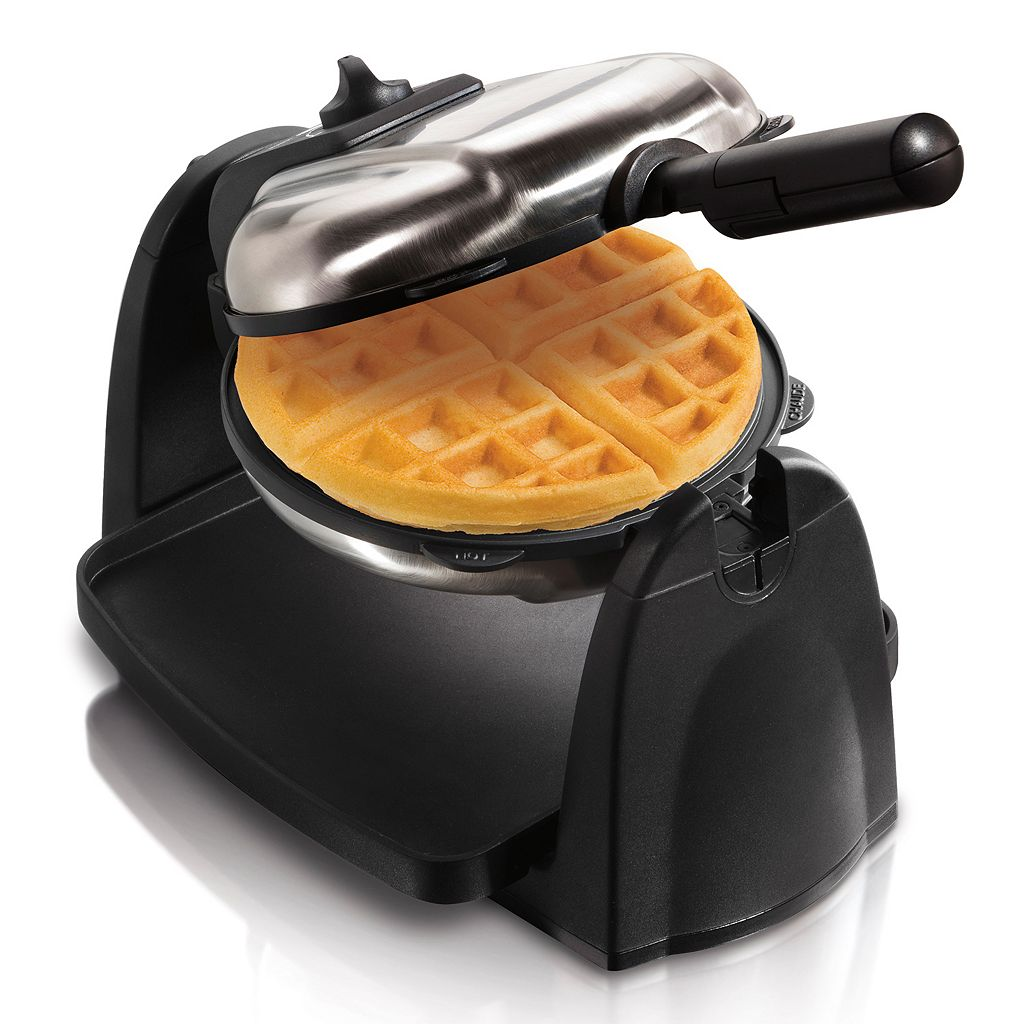 Hamilton Beach Flip Waffle Maker with Removable Grid