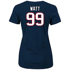 Plus Size Majestic Houston Texans J.J. Watt Name and Number Tee