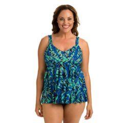 plus size swimwear & swimsuits | kohl's