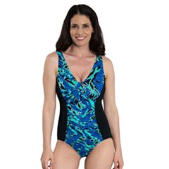 Women's Dolfin Aquashape Tummy Slimmer One-Piece Swimsuit