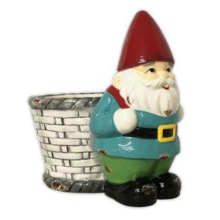 Celebrate Spring Together Indoor / Outdoor Decorative Gnome Planter