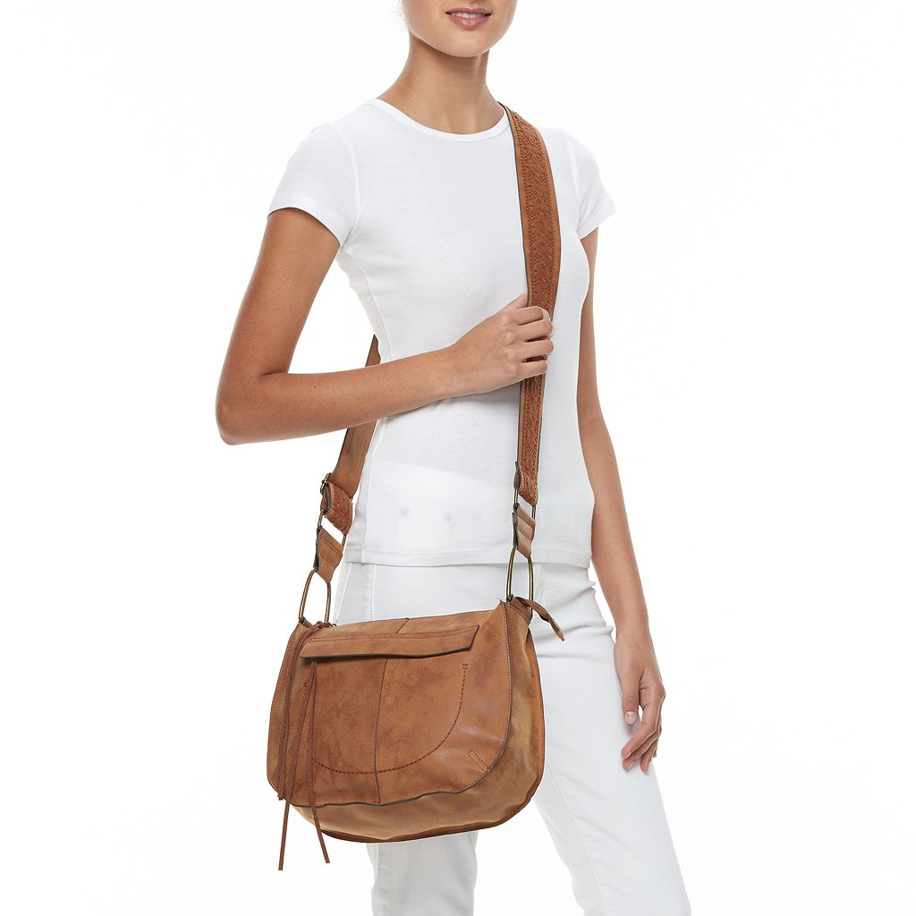 T-Shirt & Jeans Mystic River Lace Guitar Strap Crossbody Bag