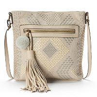 T-Shirt & Jeans Natural Instinct Woven Crossbody Bag