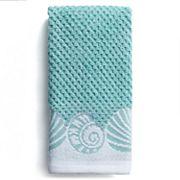 Destinations Cape May Border Fingertip Towel
