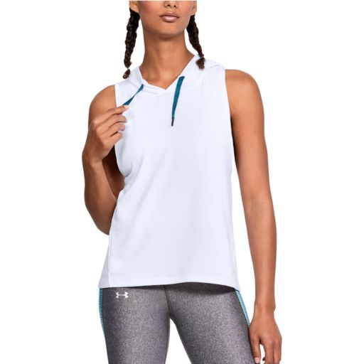 Women's Under Armour Modal Terry Sleeveless Hoodie