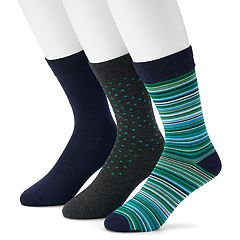 Men's Hanes 3-pack Ultimate Fresh IQ Crew Socks