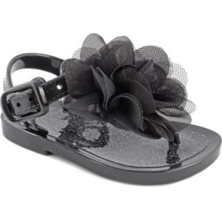 Baby Girl Wee Kids Flower Jelly Crib Sandals