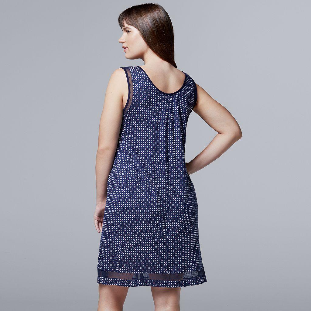 Plus Size Simply Vera Vera Wang Pajamas: Daytime Dreamer Chemise