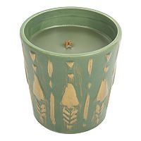 WoodWick Ceramic Tree Poplar & Pine 8.7-oz. Candle Jar