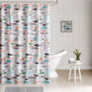 HipStyle Madfish Shower Curtain