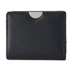 Apt. 9® Lambskin Leather RFID-Blocking  Mini Bifold Wallet
