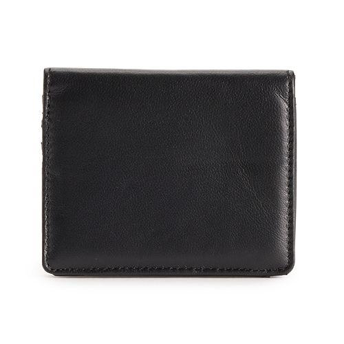 Apt. 9® Lambskin Leather RFID-Blocking  Mini Bifold Wallet