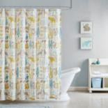 Kids INK+IVY Woodland Shower Curtain