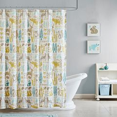 Kids INK+IVY Woodland Shower Curtain