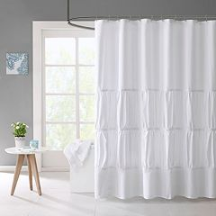 Mi Zone Cristy Microfiber Shower Curtain