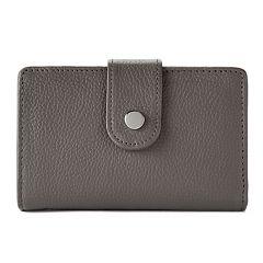 Apt. 9® Soho Leather RFID-Blocking Tab Indexer Wallet