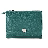 Apt. 9® Anna Soho Leather RFID-Blocking Indexer Mini Wallet