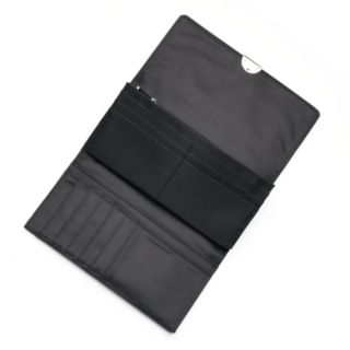 Apt. 9® Lambskin Leather RFID-Blocking Full Clutch