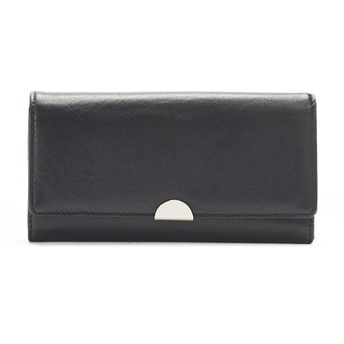 Apt. 9® Lambskin Leather RFID-Blocking Full Clutch
