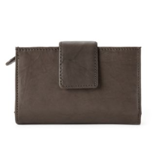Apt. 9® Sandalwood Leather RFID-Blocking Tab Indexer Wallet