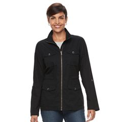 Women's Croft & Barrow® 4-Pocket Utility Jacket
