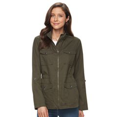 Women's Croft & Barrow® 4-Pocket Utility Jacket