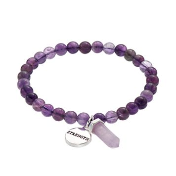 Healing Stone Amethyst Bead &