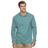Big & Tall Croft & Barrow® Classic-Fit Stretch Interlock Polo