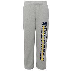 Boys 8-20 Michigan Wolverines Fleece Lounge Pants